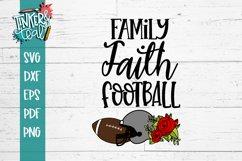 Family Faith Football SVG Product Image 2
