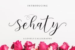 Sehaty Lovely Script Product Image 1