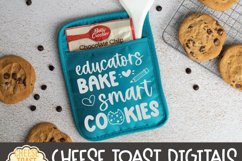 Pot Holder SVG | Educators Bake The World A Better Place Product Image 2