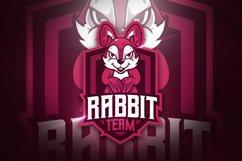 Rabbit Team V.2 - Mascot & Esport Logo Product Image 1