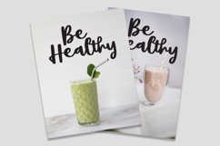 Smoothies - Smooth Font Product Image 2