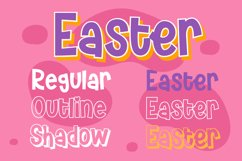House Easter - Display Fonts Trio Product Image 5
