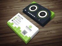 DJ Studio Business Card Product Image 1