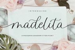 madelita Modern Handwritten Font Product Image 1