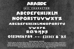 Araside - Sans Serif Font Product Image 6