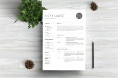 Clean Resume Template - Simple & Professional CV Template Product Image 1