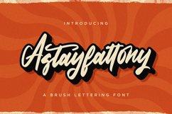 Astayfattony - Handwritten Font Product Image 1