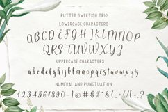 Butter Sweetish Font TRIO and Extras Product Image 6