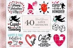 Valentine's Day Svg Bundle, 36 Valentines Shirt Designs Png Product Image 3