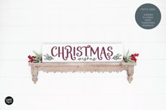 DASHER a Farmhouse Christmas Display Font Product Image 2