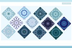 Mandalas in a round and diamond shape Product Image 2