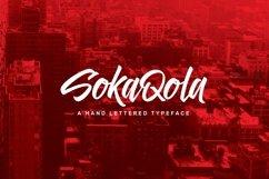 SokaQola Typeface Product Image 1