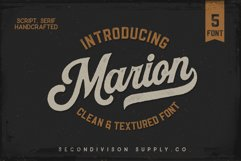 Marion 5 Font Product Image 1