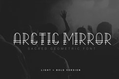 Arctic Mirror - Sacred Font Product Image 1