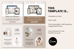 Engagement Instagram Post Templates, Podcast, Course Creator Product Image 3