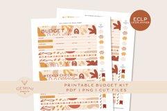 Erin Condren Printable Budget Planner Sticker Kit Product Image 1