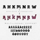 BLACKY Typeface Product Image 5