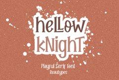 Hellow Knight // A Fun Handwritten Font Product Image 1
