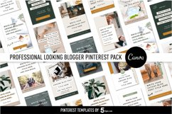 Professional Looking Blogger Pinterest Pin Pack | Canva Product Image 6