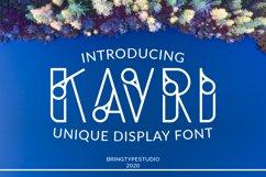 Kavri Display Font Product Image 1