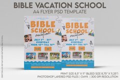 Bible Vacation School A4 Flyer PSD Template Product Image 1