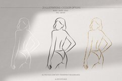 Women's Bodies Lineart Collection Product Image 4