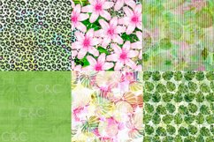 22 - 18x18 in. Exotic Summer Digital Papers Product Image 2