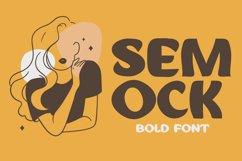 Semock - Playful Display Font Product Image 1