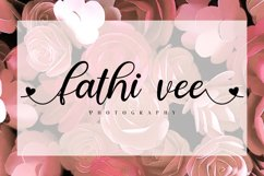 real love // a lovely calligraphy font Product Image 4