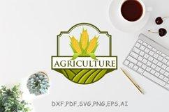 Corn farm logo design Product Image 1