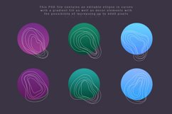 Smooth Organic / Set of graphic elements Product Image 5