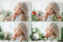 Summer overlays templates frames textures backdrop wedding Product Image 2
