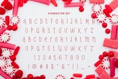 Web Font Red Candy Product Image 3