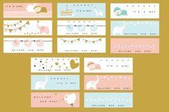 Baby Shower - cards and banners Product Image 5