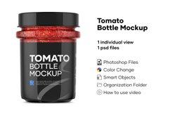 Tomato Bottle Mockup Product Image 1