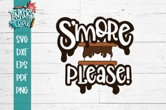 S'more Please Funny S'mores SVG Product Image 2