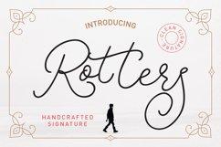 Rotters Script Font Product Image 1