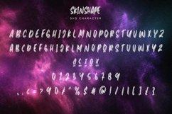 Web Font Skinshape - Energetic SVG Font Product Image 4