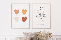 Boho Love PRINT, Love Wall Art Product Image 1