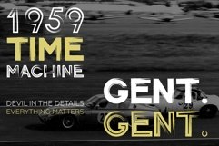 Gent. Display brushed typeface. Striking and modern. Product Image 4