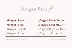 Morgen - Handwritten Serif Font Product Image 3