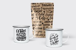 Coffee lettering set Product Image 5