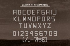 Labyrinth Typeface Product Image 5