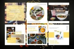 Instagram Post Template - Food On Your Bowl Product Image 2