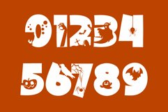 Halloween Party - A Silhouette Display Font Product Image 4