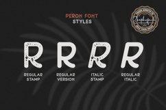 Peron - Modern Vintage   4 Fonts Product Image 3