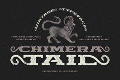 Chimera Tail, font + illustration Product Image 1