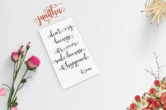 Web Font Junitha Script Product Image 5