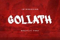 Web Font Goliath Font Product Image 1