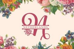 Albanian Olive Monogram   Font Trio Product Image 4